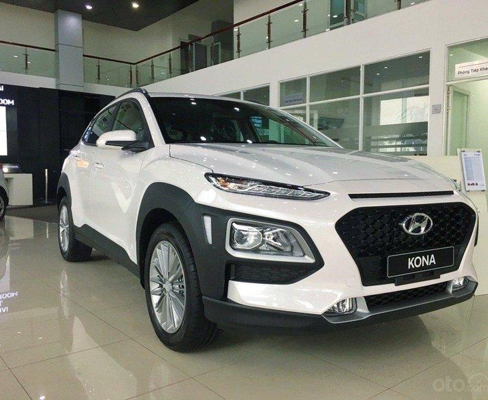 Hyundai Hà Đông bán Hyundai Kona 2021 ưu đãi lên đến 40tr, đủ màu giao xe ngay, kèm quà tặng giá trị khủng0