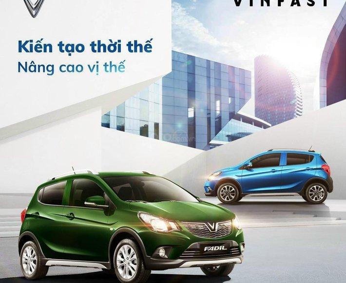 Vinfast Fadil ưu đãi lớn, hỗ trợ quý khách hàng mua xe phòng dịch Covid 190