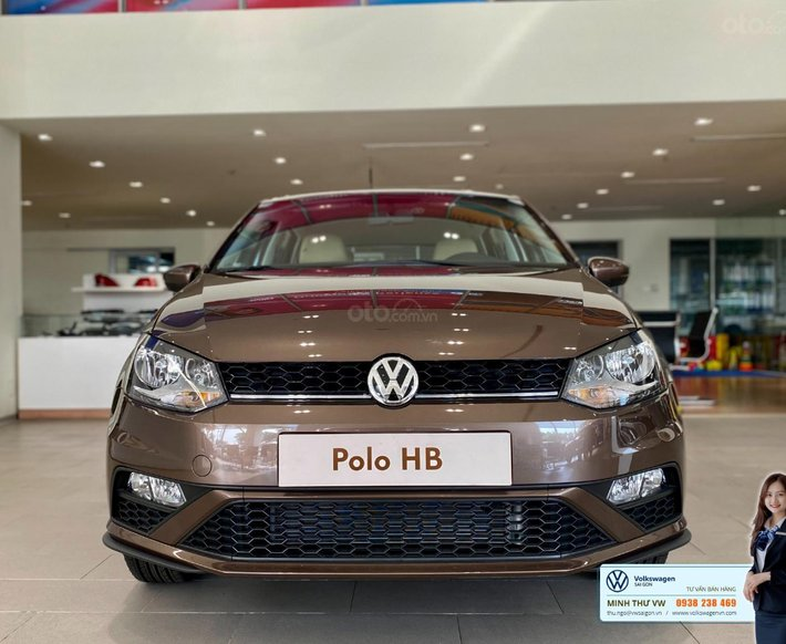 Polo Hatchback 2021 màu nâu hổ phách - Xe nhỏ dành cho đô thị0