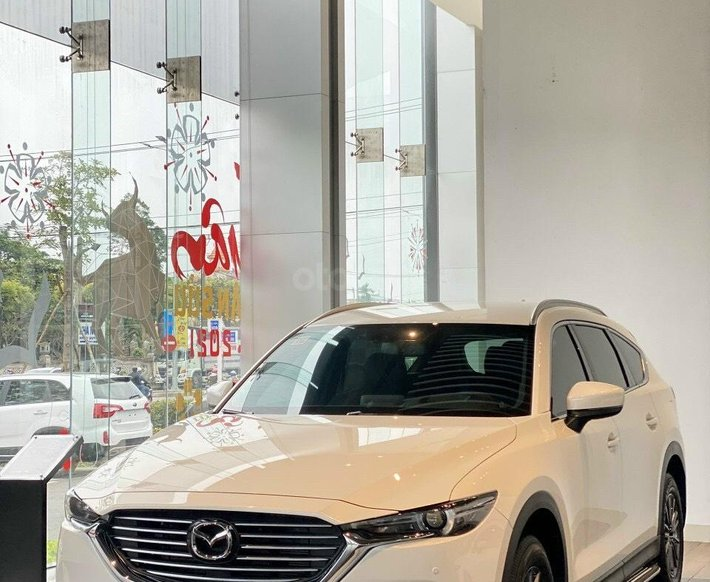 Bán Mazda CX8 Deluxe 2021- chào hè rực rỡ, giao xe ngay full màu0