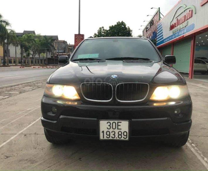 Cần bán BMW X5 năm 2005, màu đen, nhập khẩu nguyên chiếc, giá 286tr0