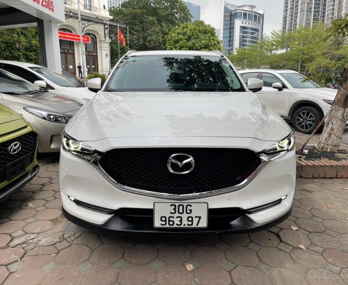 Bán xe Mazda CX 5 sản xuất 2019, màu trắng0
