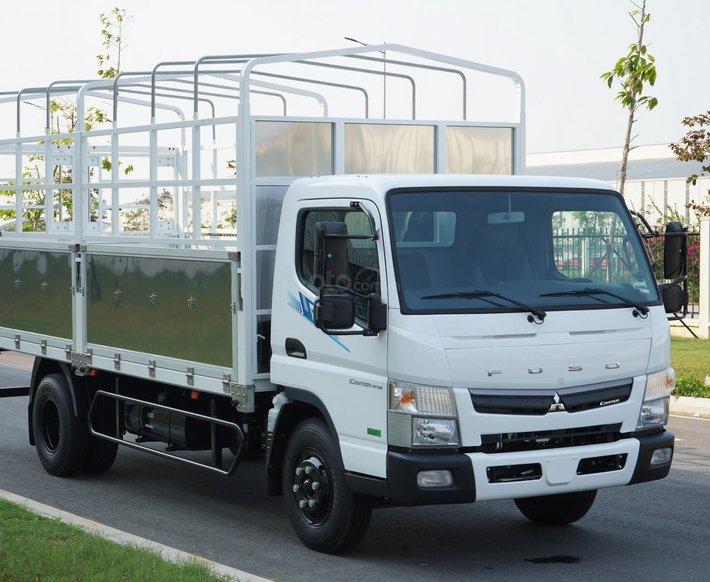 Xe tải Nhật Bản 3.5 tấn Mitsubishi Fuso Canter TF7.5 Thùng Dài 5.2m, trả góp 70% tại Hà Nội0