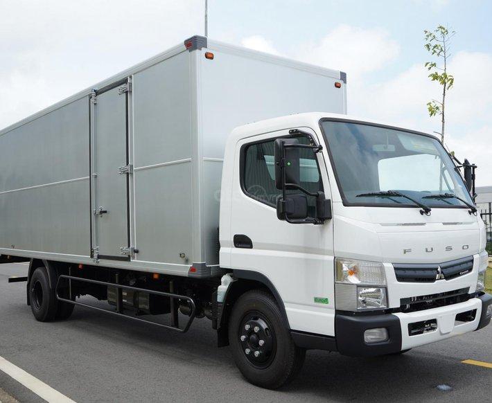 Xe tải Nhật Bản 4.6 tấn Fuso Canter TF8.5L thùng dài 6.2m, trả góp 70% tại Hà Nội0