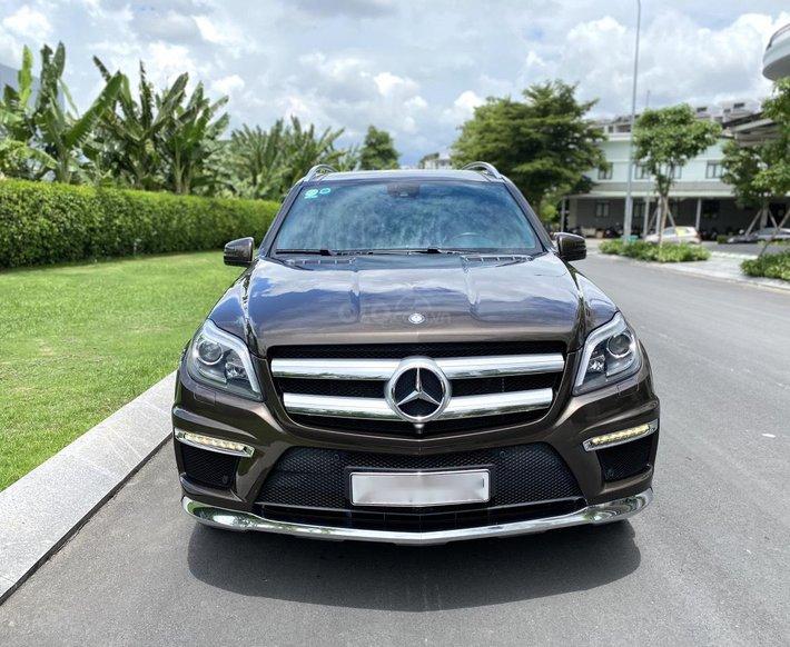 Bán Mercedes Benz GL500 AMG 1 đời chủ giá siêu rẻ, chỉ 2.550 tỷ0