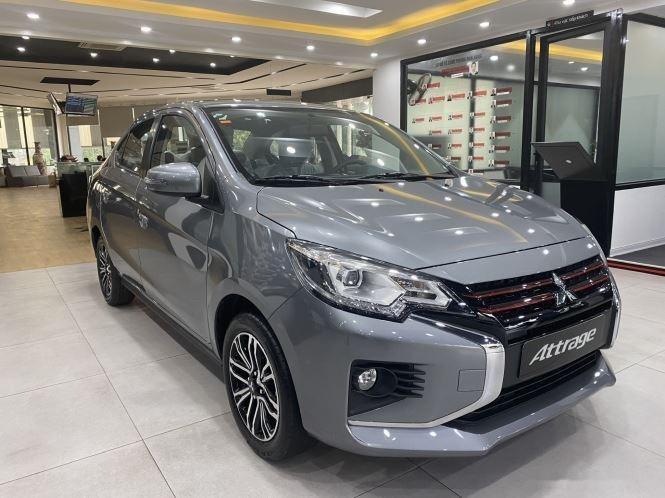 Bán ô tô Mitsubishi Attrage CVT Premium sản xuất năm 2020, màu xám0