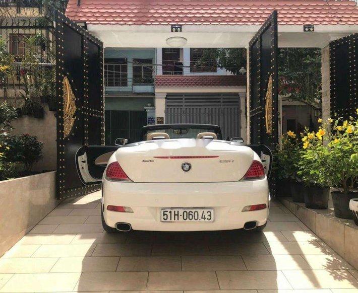 Bán BMW 650i năm sản xuất 2007, màu trắng, nhập khẩu nguyên chiếc, giá 950tr0