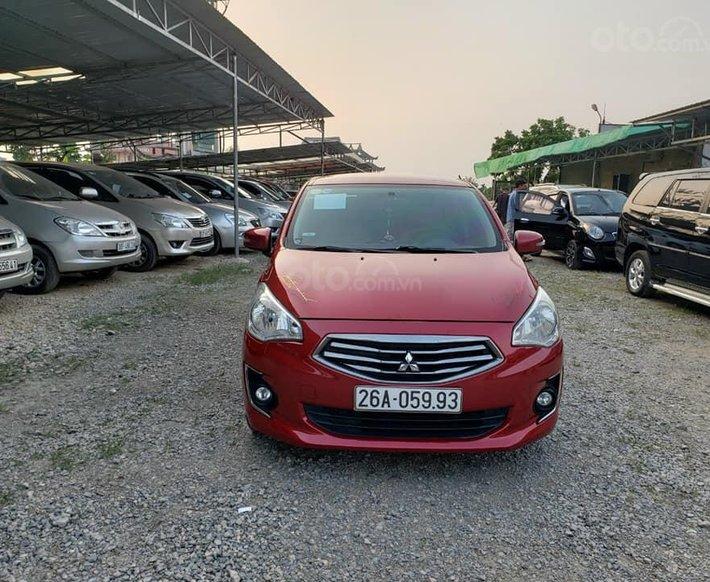 Xe Mitsubishi Attrage đời 2017, màu đỏ, nhập khẩu số tự động, 420 triệu0