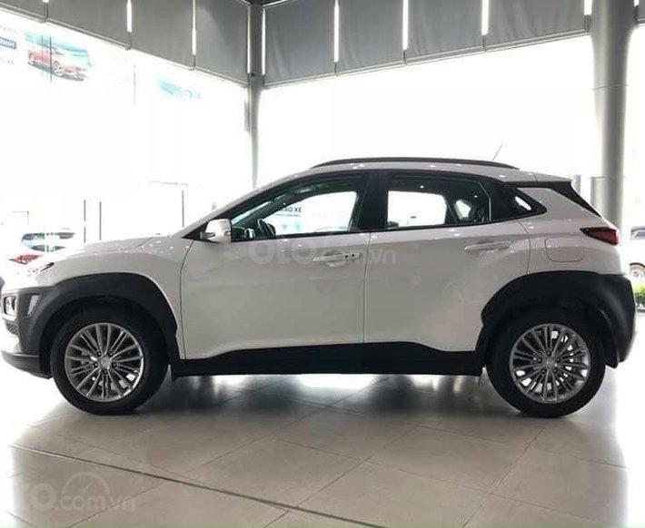 Bán Hyundai Kona 2.0 AT sản xuất 2021, màu trắng0