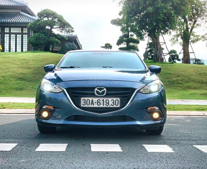 Bán xe Mazda 3 2015 màu xanh, bản đặc biệt Mazda 6, giữ gìn0