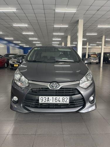 Cần bán xe Toyota Wigo 1.2MT năm sản xuất 2019, màu xám giá cạnh tranh0