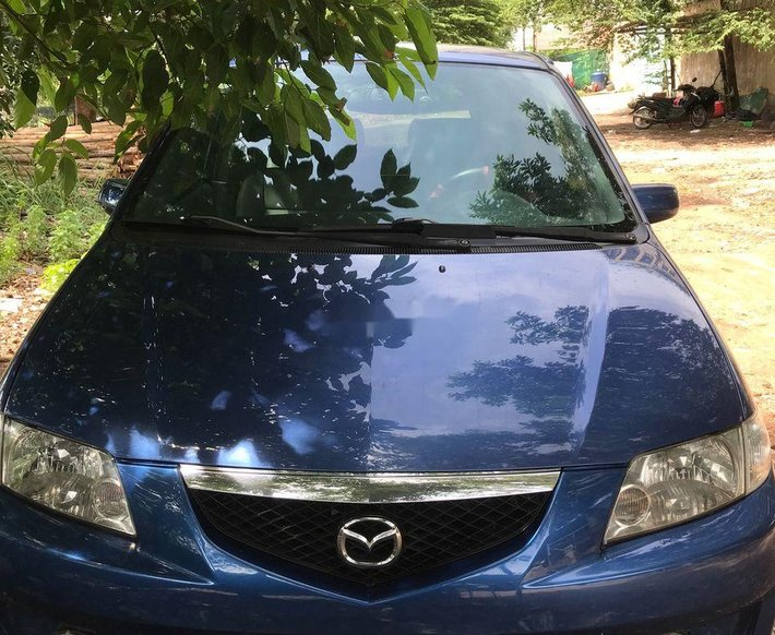 Bán Mazda Premacy năm 2004, màu xanh lam0