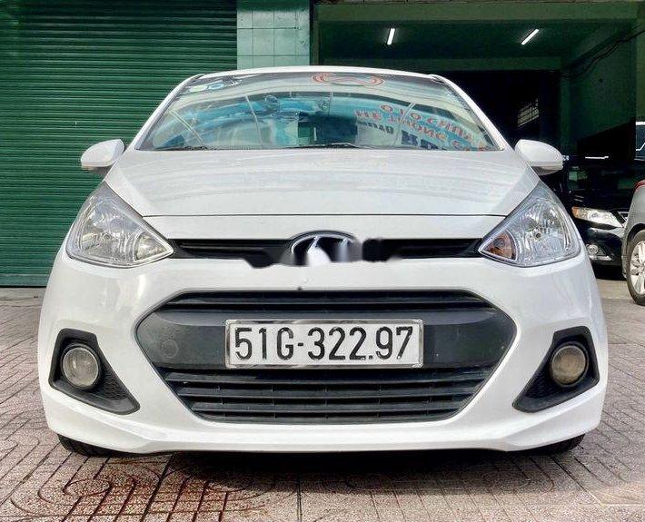 Bán Hyundai Grand i10 sản xuất năm 2016, màu trắng, nhập khẩu  0