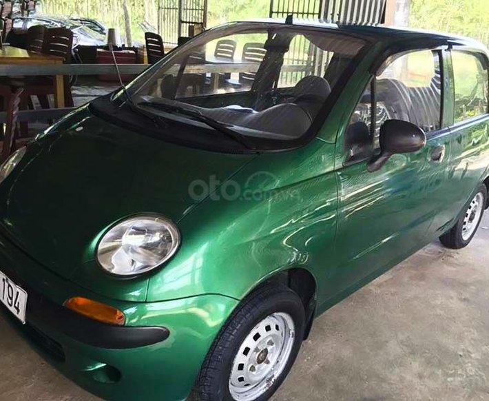 Bán Daewoo Matiz 0.8 MT đời 1999, màu xanh lam, xe nhập 0