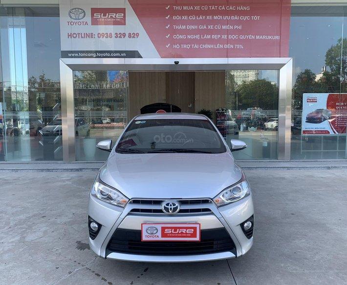 Cần bán Xe Cá nhân : Toyota  Yaris 1.3G AT 2015 - màu bạc - Đi 15.685 km0