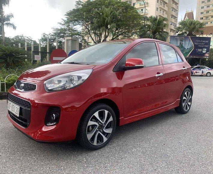 Bán Kia Morning S AT sản xuất năm 2018, màu đỏ chính chủ, giá 355tr0