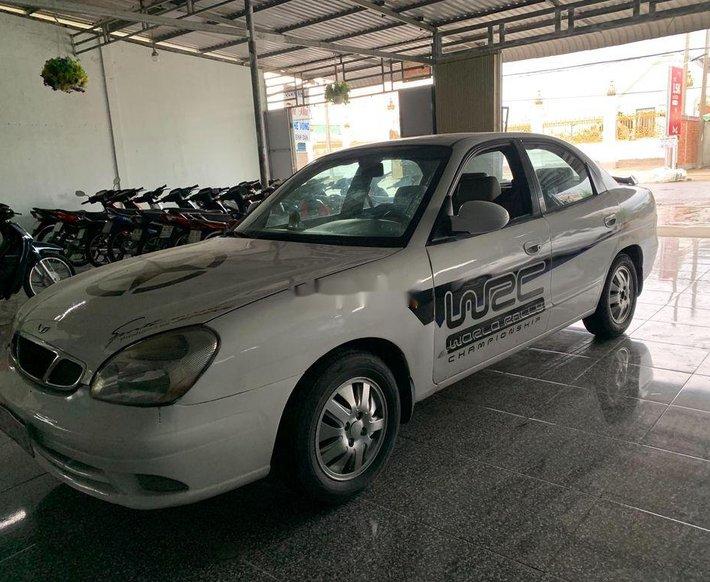 Bán Daewoo Nubira sản xuất 2000, màu trắng, xe nhập chính chủ, 80 triệu0