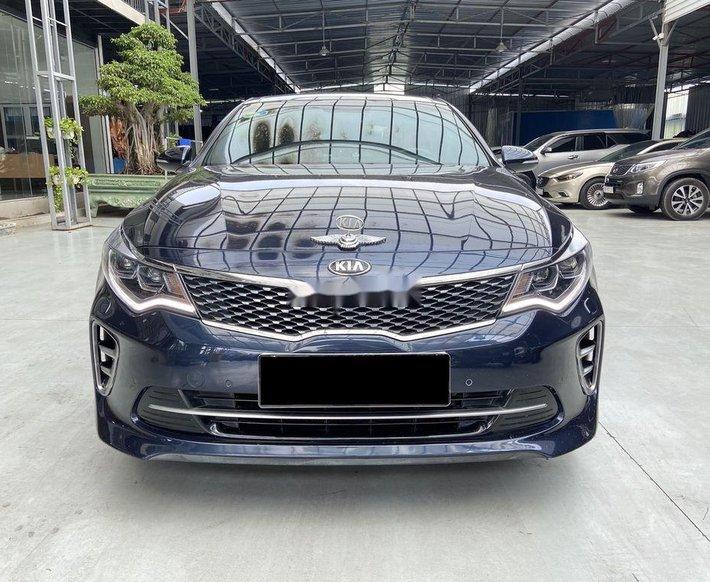Bán xe Kia Optima 2.4 GT Line đời 2018, màu xanh0