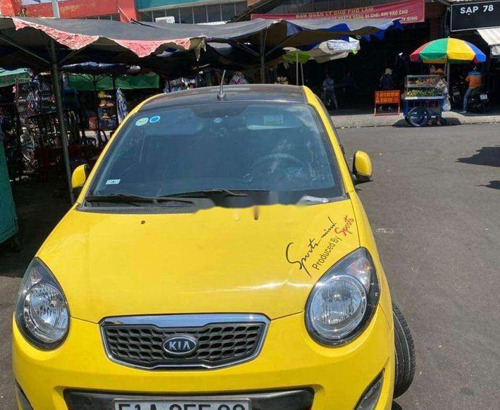 Cần bán lại xe Kia Morning 1.1 AT 2012, màu vàng chính chủ, 228 triệu0