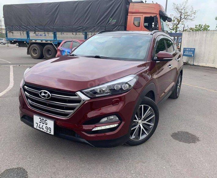Bán Hyundai Tucson sản xuất 2015, màu đỏ, nhập khẩu0