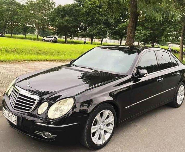 Bán ô tô Mercedes đời 2008, màu đen còn mới 0