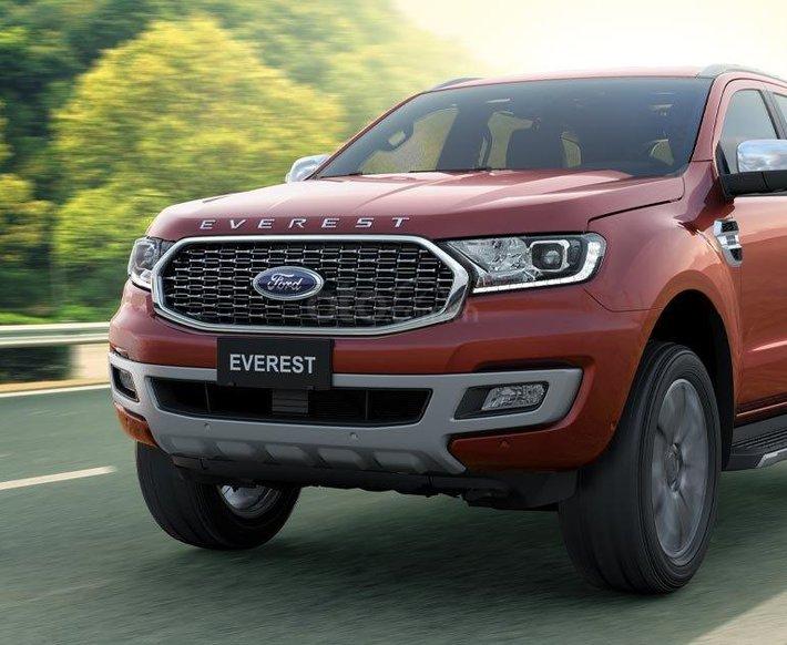Ford Everest ưu đãi khủng gần 100tr, hỗ trợ 80% giá trị xe, tặng phụ kiện hấp dẫn, đủ màu các phiên bản giao ngay0