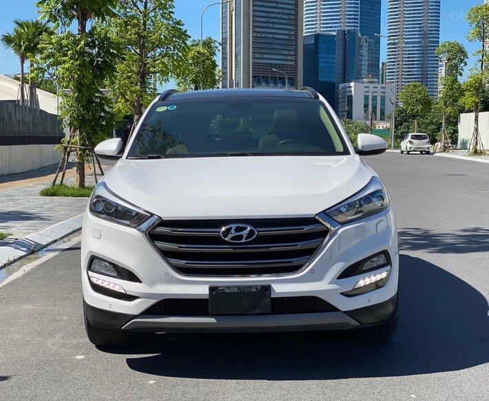 Bán xe Hyundai Tucson 1.6 tubo 2017 xe đi đẹp như mới, nguyên bản0