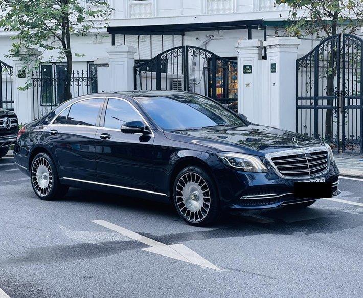Bán S450 Luxury sản xuất 2017, đăng ký 2018 cực mới0