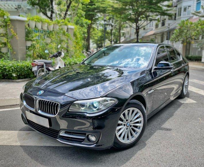 Bán BMW 520i LCI 2014 bảo dưỡng full lịch sử hãng0