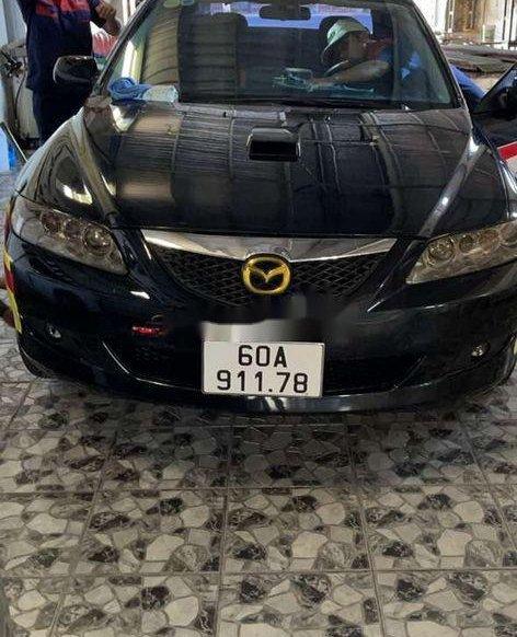 Cần bán Mazda 6 năm sản xuất 2005, màu đen, nhập khẩu0