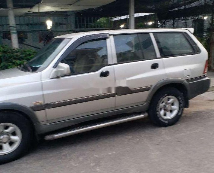 Bán ô tô Ssangyong Musso năm sản xuất 2004, màu bạc, giá 118tr0