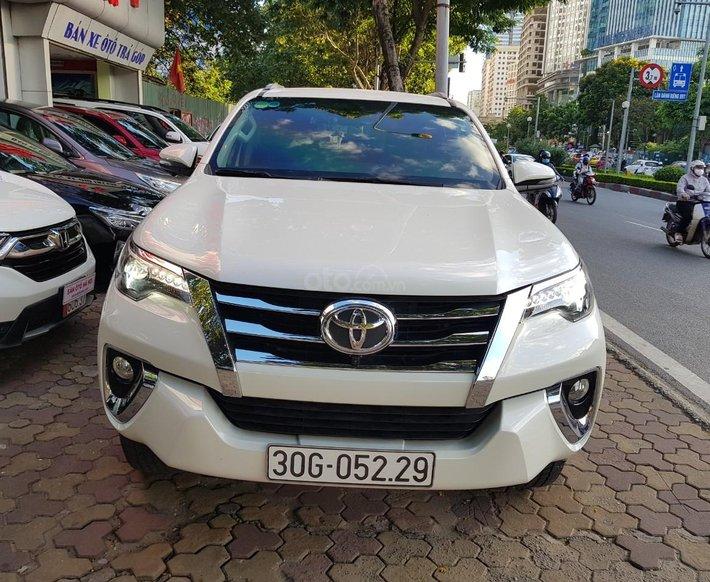 Toyota Fortuner 2.7V 2019 trắng siêu tinh khiết, nhập khẩu Indonesia0