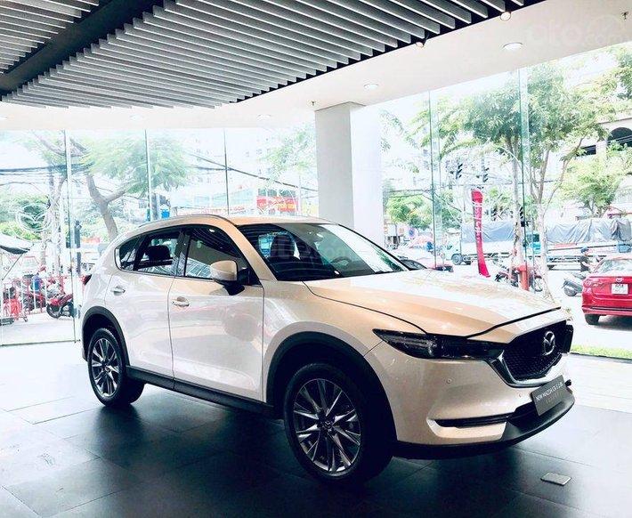 Bán xe Mazda CX 5 2021, màu trắng, 859 triệu0