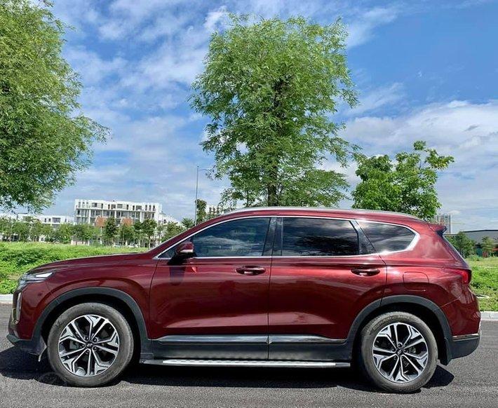Cần bán lại xe Hyundai Santa Fe đời 2020, màu đỏ0