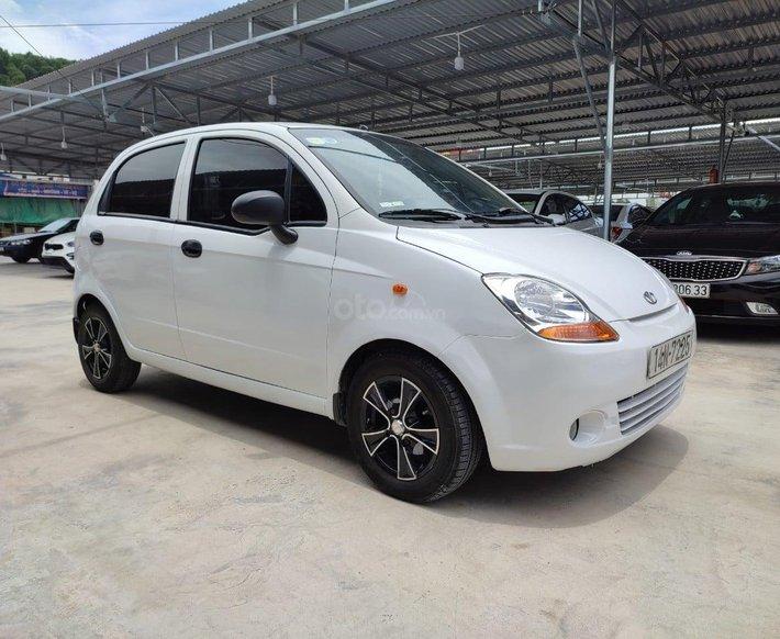 Bán Daewoo Matiz đời 2005, màu trắng, nhập khẩu Hàn Quốc số tự động0