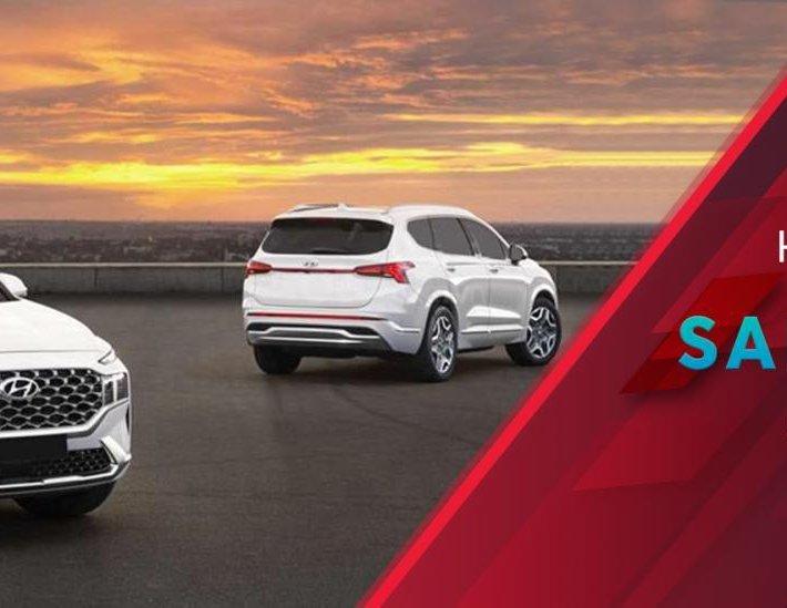 [Hyundai An Khánh 3S] Hyundai SantaFe 2021 NEW cực phẩm, bao giá toàn quốc, sẵn xe giao ngay0