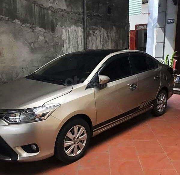 Xe Toyota Vios 1.5E năm 2018, màu vàng  0