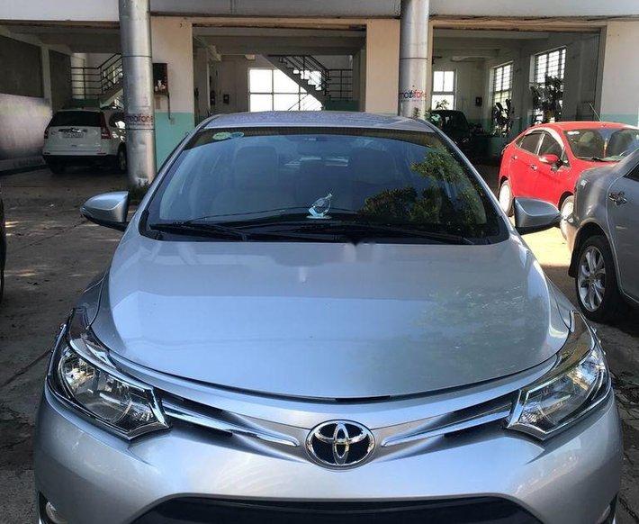 Bán Toyota Vios năm 2018, màu bạc, xe nhập, 385 triệu0
