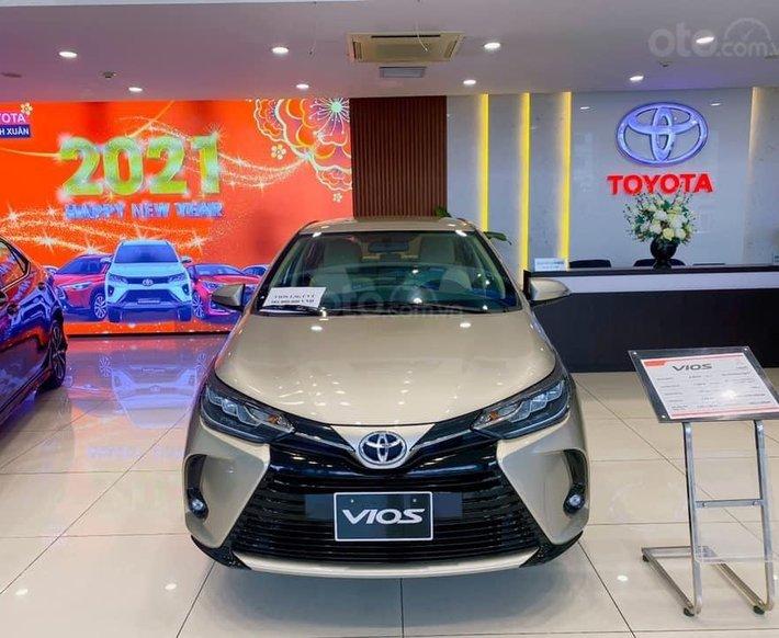 [Đại lý Toyota] Toyota Vios 2021, nhận xe với 95tr, đứng đầu doanh số mẫu xe phân khúc B, hỗ trợ bank 80% giá trị xe0