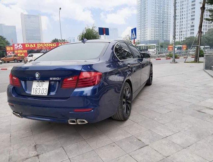 Bán BMW 520i sản xuất 2016, màu xanh lam0