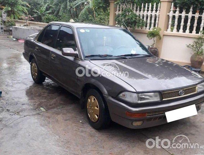 Cần bán lại xe Toyota Corolla 1989 đời 1989, màu nâu, xe nhập0