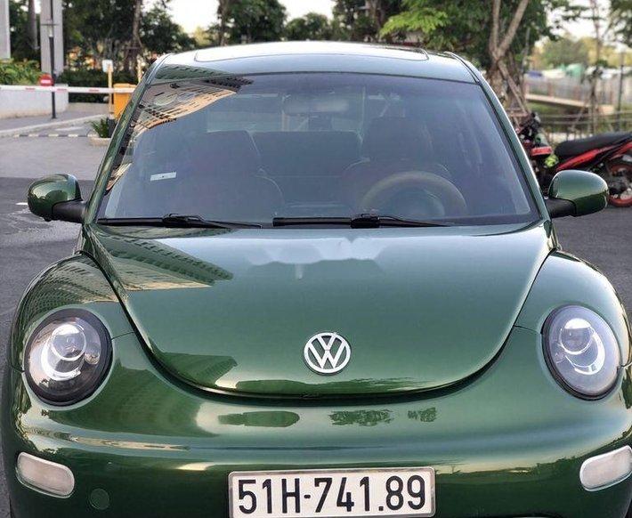 Bán ô tô Volkswagen Beetle 2002, màu xanh, xe nhập chính chủ0