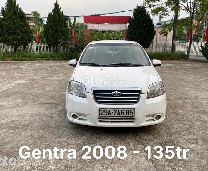 Bán Daewoo Gentra 2008, màu trắng còn mới, 135tr0