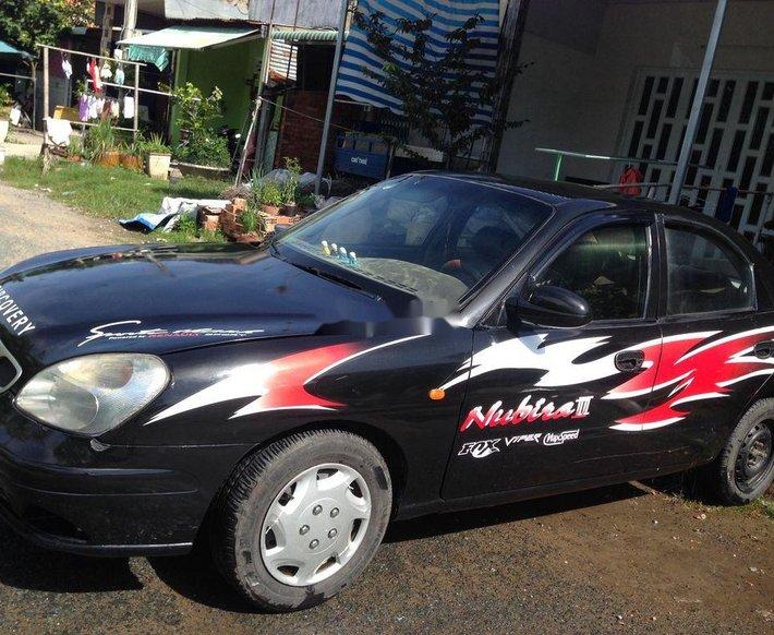 Bán Daewoo Nubira đời 2001, màu đen, 52 triệu0