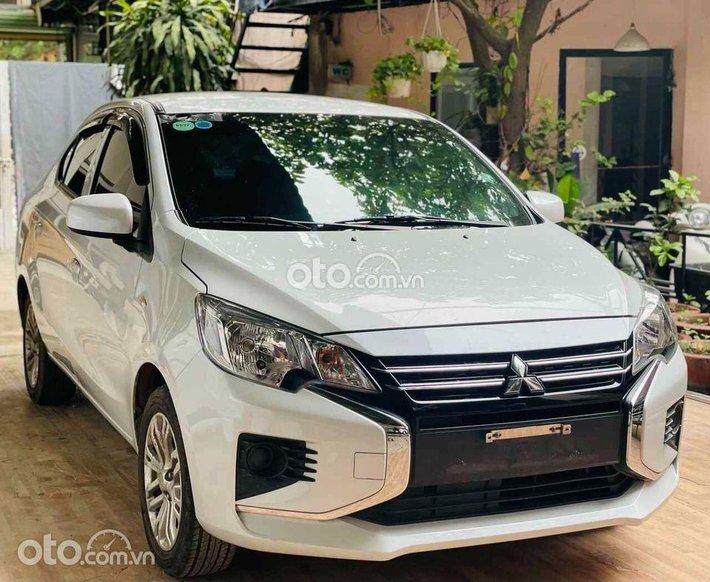 Bán Mitsubishi Attrage đời 2020, màu trắng đã đi 28.000km0