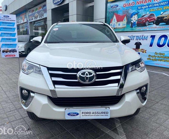 Bán Toyota Fortuner năm 2020, màu trắng số tự động0