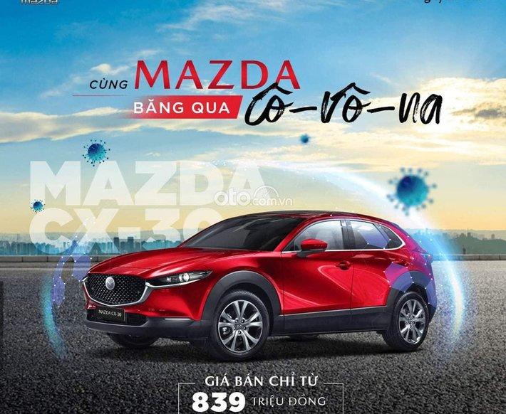Cần bán xe Mazda CX-30 2021, màu đỏ, 839 triệu0