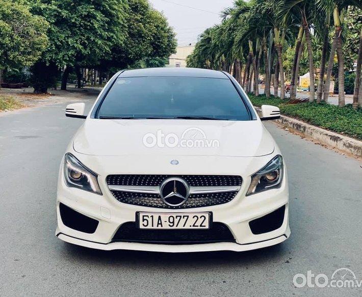 Bán Mercedes CLA250 AMG sản xuất 2014, màu trắng, 840tr0