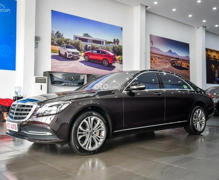 Cần bán gấp Mercedes S450 Luxury sản xuất 2019, màu đen, nhập khẩu nguyên chiếc0