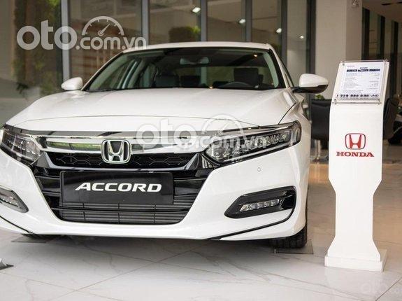 [Honda TP. HCM] Honda Accord 2021, xe nhập khẩu nguyên chiếc. Hỗ trợ vay 90% giá trị xe, tặng kèm bộ phụ kiện hot0